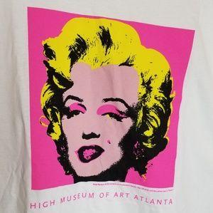 Tops - Andy Warhol Marilyn Monroe Tee Shirt NWOT